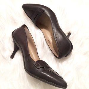 Penny Loafer Inspo Heels